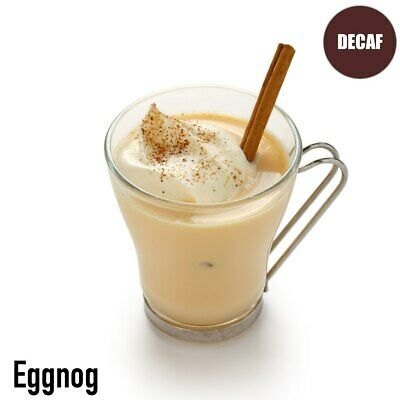 Eggnog Flavored Decaf Coffee 16 oz
