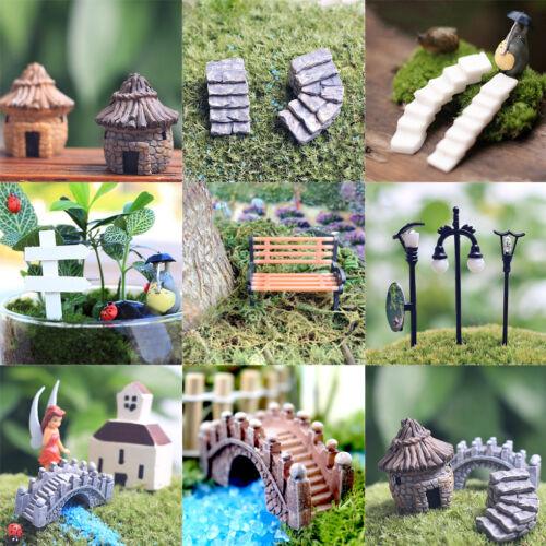 Figurine Craft Plant Pot Garden Ornament Miniature Fairy Garden Decor DIY
