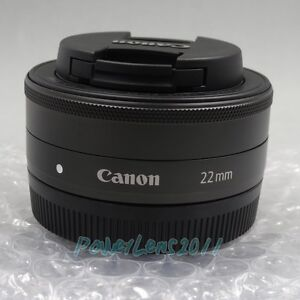 Canon EF-M EFM 22MM 22 MM F/2.0 F2.0 STM Wide Angel Lens for Canon EOS-M Camera
