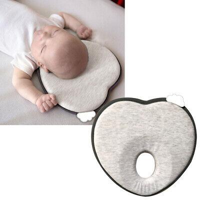 Baby Newborn Infant Prevent Flat Head Pillow Breath lying Cushion Anti Roll RU ()