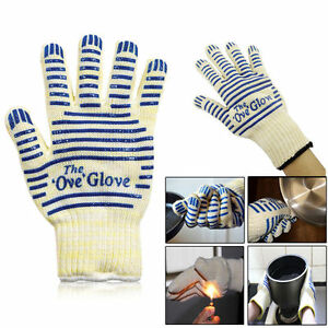 Heat Proof Resistant Mitt Ove Glove Oven Hot Surface UK Seller Free P&P
