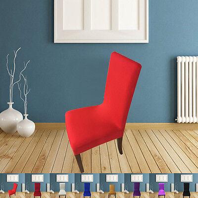 Kunststoff-stuhl Sitzbezüge (Stretchy Sitzbezüge Küche Esszimmer Stuhlbezug Restaurant Hochzeit Teil Dekor)