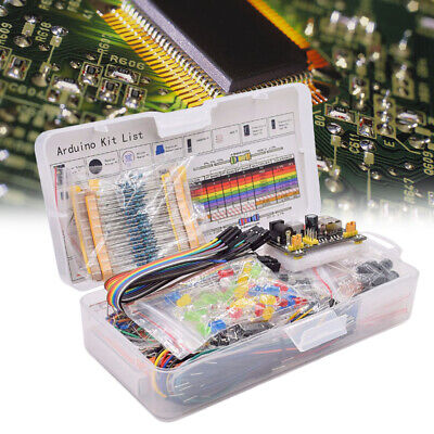 830 Tie-points Breadboard Cable Jump Wire Resistor Capacitor Led Potentiometer