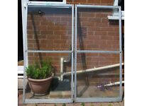 GREENHOUSE SLIDING DOORS