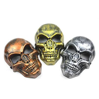 ke Skelett Krieger Kostümspiel Maskerade Poliert (Maskerade Schädel Maske)