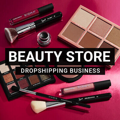 Beauty Store - Ready To Go Dropshipping Business Website