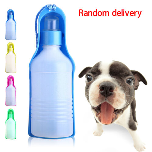 250ml Foldable Pet Dog Water Bottle Outdoor Travel: Portable Foldable 250ml Plastic Feeding Bowl For Dog Cat