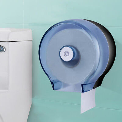 Waterproof Toilet Round Roll Paper Dispenser Holder Roll Wall Mounted Rest Room