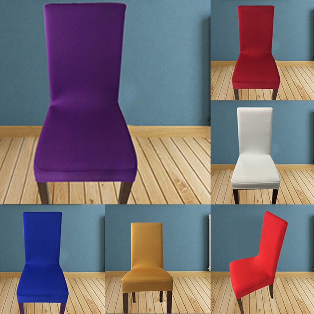 Stretchy Seat Covers Kitchen Dining Chair Cover Restaurant Wedding ...