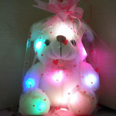 So Cute Toys for Girls Kids LED Stuffed Bear Night Light Lamp Baby Best Toy (Best Gifts For Infants)