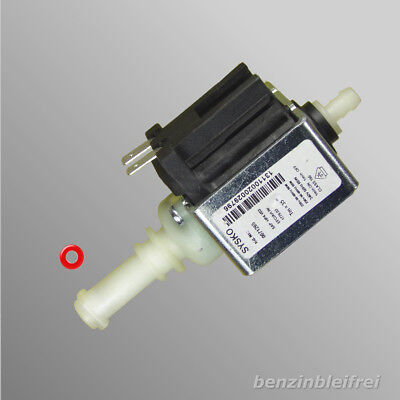 Wasserpumpe Pumpe schwarz + 1 O-Ring Jura SAP.HP4 SYSKO 240V 50Hz 65W GEBRAUCHT