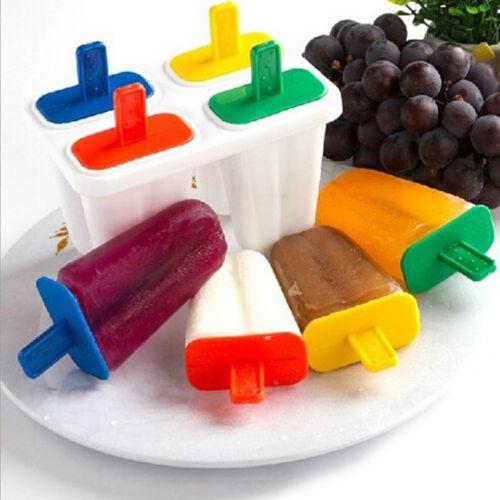 4 Cell DIY Frozen Ice Cream Mold ...