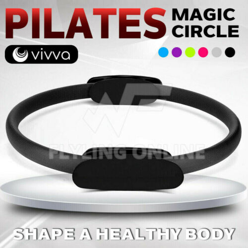 VIVVA Pilates Ring Resistance Training Tool Yoga Exercise Magic Circle Grip 39cm
