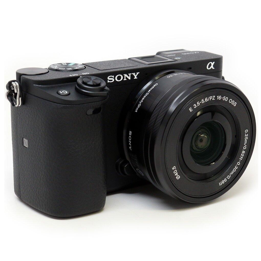 DEAL: Sony a6300 Mirrorless Digital Camera + 16-50mm Lens. Black Alpha 4K Kit