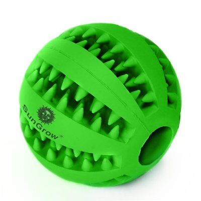 Pet for Dogs Qwerks Large Talking Babble Ball Toy cat and dog Tooth Cleaning Toy