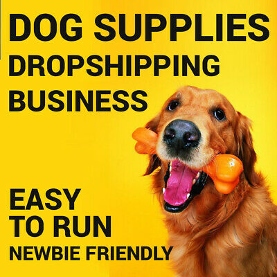 Dog Supplies Dropshipping Store - Turnkey Business Website