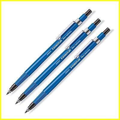 3 X Staedtler Mars Technico 788 C - 2mm Lead - Mechanical Pencil Holder