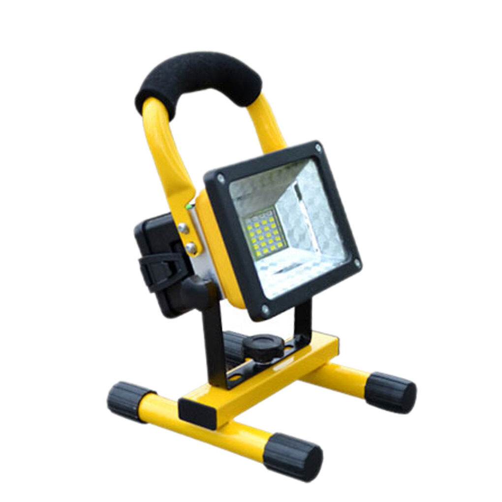 Outdoor Flood Light Does Not Work: Portable Rechargeable 24 LED Flood Light Spot Work Outdoor