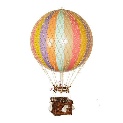 Xl Hot Air Balloon Model Pastel Rainbow 17 Aviation Hanging Ceiling Home Decor