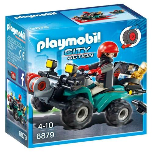 Playmobil City Action Bandiet met Quad