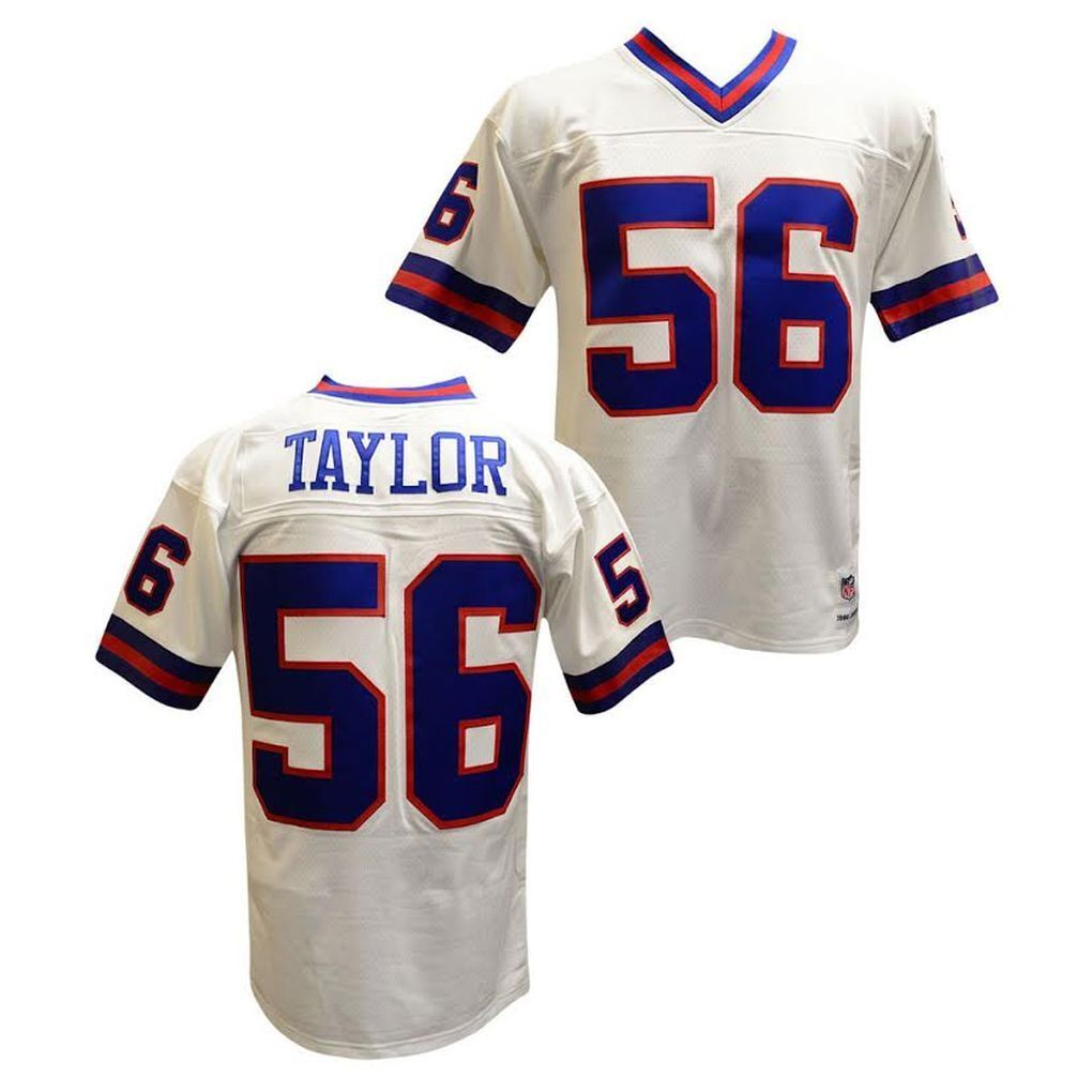 Details about Lawrence Taylor New York Giants Mitchell   Ness Throwback  Jersey White XXL fe425b052