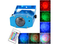 Bright Water Stars Fire LED Lighting Atmospheric Effect Disco Stage DJ Party Sensory & Controller