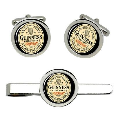 Guinness Manschettenknöpfe und clip-krawatte Set