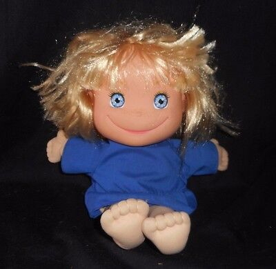 VINTAGE 1988 SUNNY VALLEY KIDS BLONDE HAIR GIRL DOLL STUFFED ANIMAL PLUSH TOY