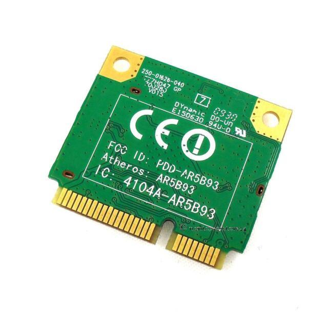 Atheros AR5B93  802.11b/g/n half size Card Wireless mini Pci-Express Karte ACER