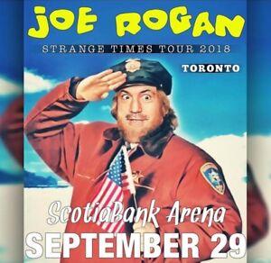 Joe Rogan Toronto September 29th  4 Tickets