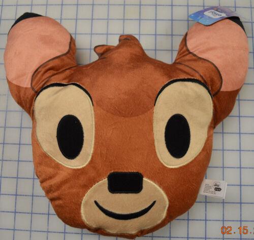DISNEY Emoji Blitz Game Bambi Emoji Pillow Deer Throw Pillow
