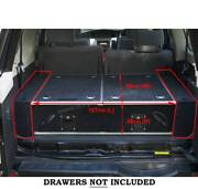 Side Wing Kit for Rear Drawer System - Landcruiser 80 100 105 200 Malaga Swan Area Preview