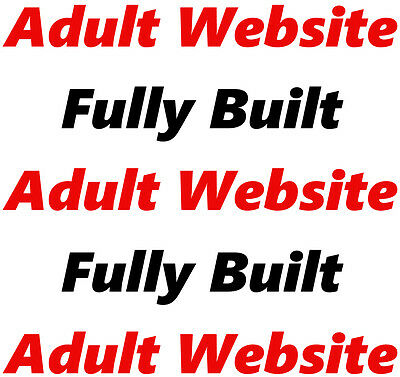 Adult Website   Online Business   Internet   Affiliate   For Sale   Fully Built