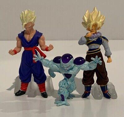 "Dragon Ball Z Mini Figure Lot Goku Gohan Freeza Statue Bust 3"" (Dbz Gohan)"