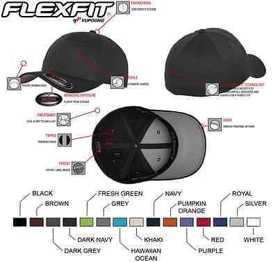 Original Flexfit Basecap Baseball Cap Mütze Kappe Wooly Combed FX6277  - Flex Fit Cap