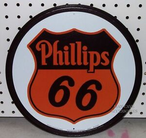 Nostalgic Phillips 66 Gasoline Motor Oil Gas Station 12