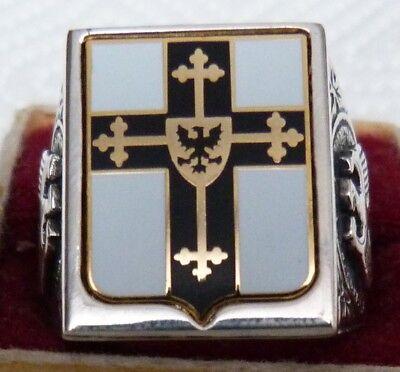 Ring Deutscher Ritter Silber 925