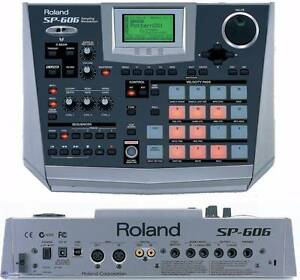 Roland 606 sampler drum pad Fitzroy North Yarra Area Preview