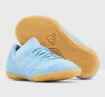 the latest 34647 daa33 Adidas Boys Nemeziz Messi Tango Indoor Sky Blue zaptillas Soccer Sneakers  DB2391