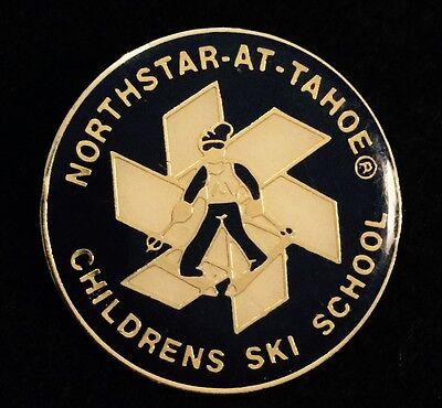 NORTHSTAR CHILDREN'S SKI SCHOOL Skiing Ski Pin CALIFORNIA CA Resort Travel (Northstar Kids)