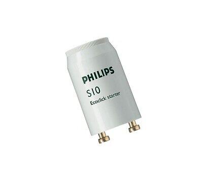 PHILIPS S10 Starter Leuchtstoffröhre 4-65 W Leuchtstofflampe Neonröhre Zünder