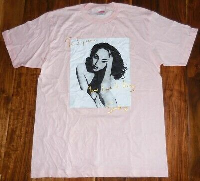 Supreme Authentic Men's Sade SS Pink Crew T-Shirt size L
