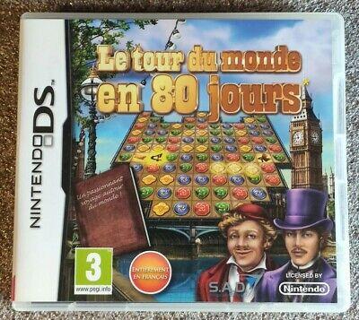 Le Tour Du Monde En 80 Jours FR jeu Nintendo DS DSL DSI 3DS 2DS NEW3DS NEW2DS