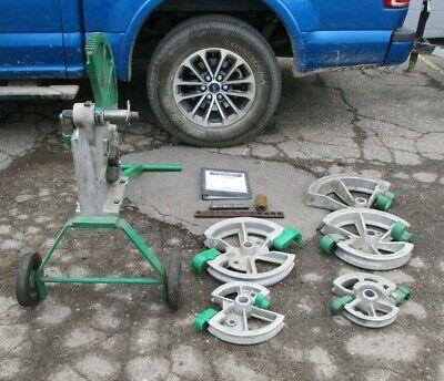 Greenlee 1818 Mechanical Pipe Conduit Bender Portable 12 To 2 Emt Rigid