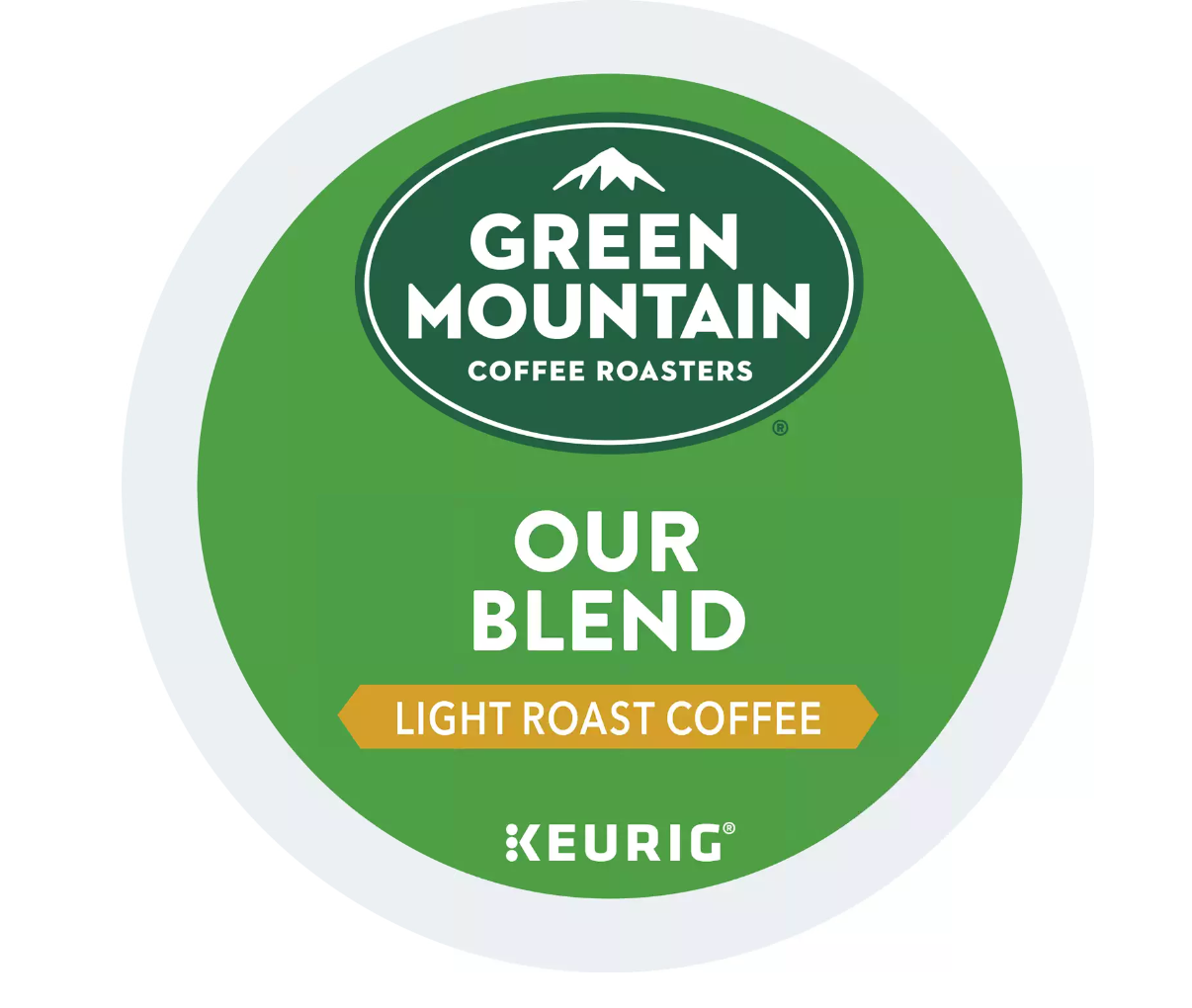 Green Mountain Coffee Our Blend, Keurig K-Cup Pod, Light Roast, 144, 192 Count - $70.99