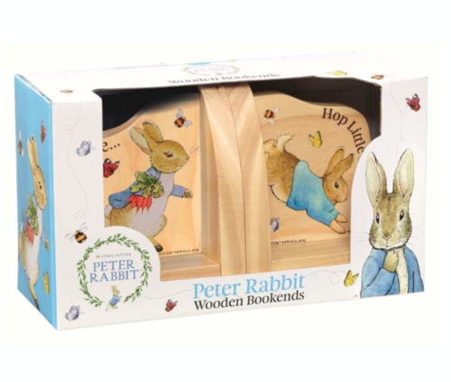 Peter Rabbit Wooden Bookends Toddler Baby Nursery BEATRIX POTTER  FAST DISPATCH!