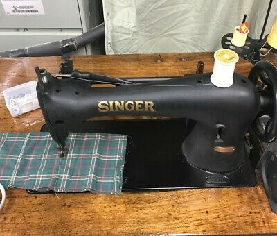 Singer 16-188 Industrial Leather Sewing Machine Walking Foot Excellent Condition