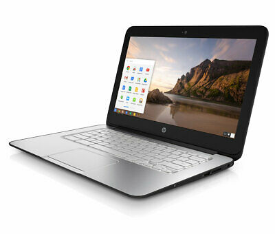 HP Chromebook 14'' G1 Intel 1.4GHZ 4GB RAM 16GB SSD HD Webcam Chrome OS Black
