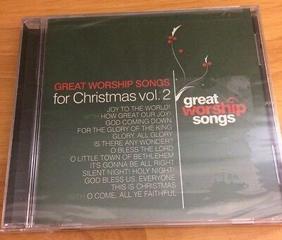 Great Worship Songs for Christmas vol 2 CD Praise Band Sealed  ()