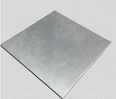 Titanium Ti Gr.5 Gr5 Grade 5 Astm B265 Plate Sheet 1 X 200 X 200 Mm Ew8-2